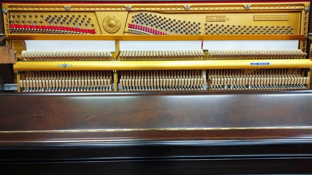 ピアノ内装状態